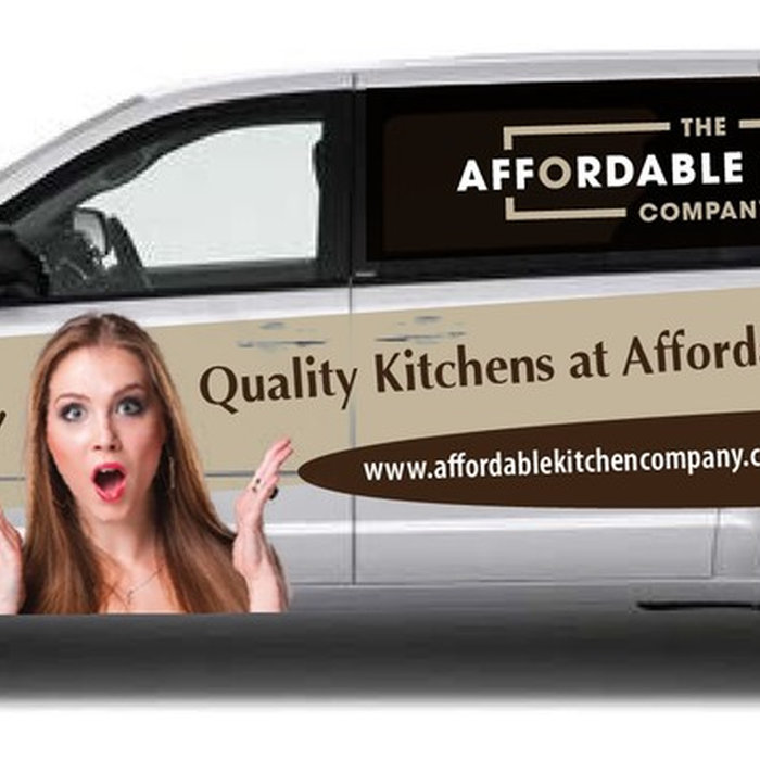 The Affordable Kitchen Company Van