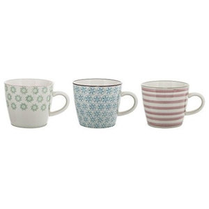 Bloomingville Patrizia Mugs, Set of 3