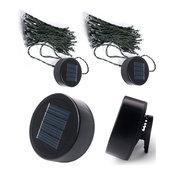 LITEUP50 Solar Clip On String Lights, 2 Pack