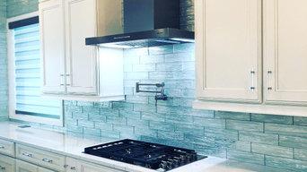 Sophisticated Coastal Kitchen