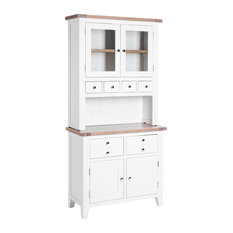Country 2-Door Hutch, White