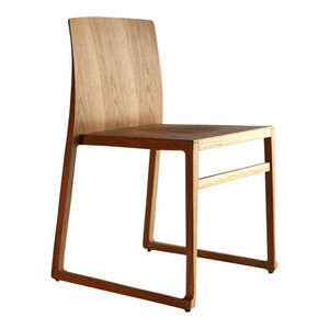 Hanna Sled Stacking Chair Modern Dining Chairs By 212 Concept
