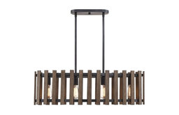 Teten 4-Light Linear Chandelier