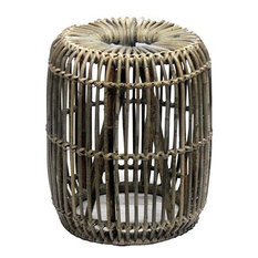 Cubu Wicker Stool