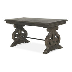 Magnussen Home Furnishings - Magnussen Bellamy Writing Desk, Weathered Peppercorn - Desks and Hutches