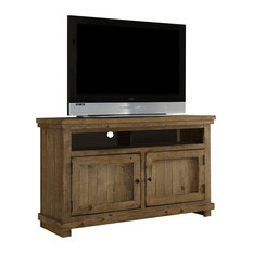 """Willow Entertainment 54"""" Console, Distressed Pine"""