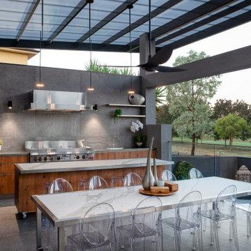Nicholls Residence (Renovation) Outdoor Alfresco