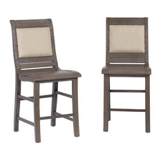 Willow Upholstered Counter Chair, Set of 2