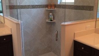 Replacement shower door