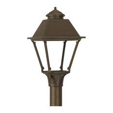gas lamp works the westmoreland outdoor lighting noble bronze post. Black Bedroom Furniture Sets. Home Design Ideas