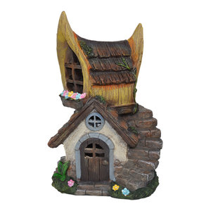 Old Hickory Inn Fairy House for Miniature Garden, Fairy