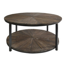 Metal And Wood Coffee Tables Houzz