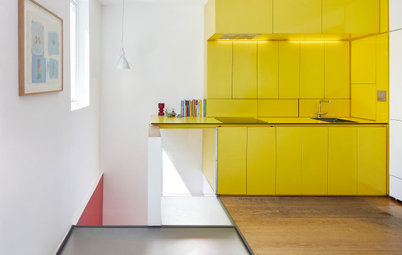 See How an Architect Has Used Bold Colour to Add Joy to Her Home