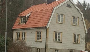 EFTER: Takläggning med Jönåker Monier Ytb Tegelröd