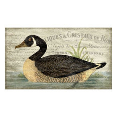 """French Goose Vintage Wooden Sign, 15""""x26"""""""