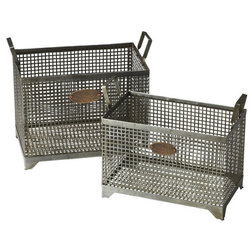 Industrial Baskets by ShopFreely
