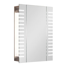 Axis Demist Cabinet, With Horizontal Led Stripes