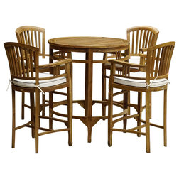 Transitional Outdoor Pub And Bistro Sets by Chic Teak