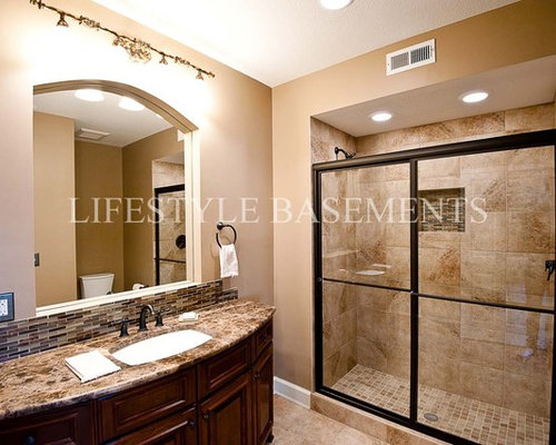 Basement bathroom ideas pictures remodel and decor for Putting a bathroom in a basement