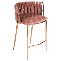 Milano Counter Chair, Rose