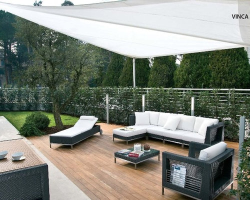Retractable Sail Awnings By Corradi   Outdoor Umbrellas