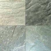 Gauged Ocean Classic Quartzite Tilie, Green, Sample
