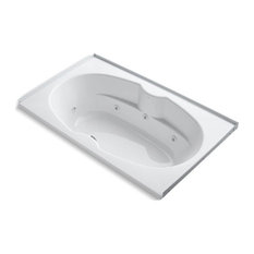 "Kohler 7242 72""x42"" Alcove Whirlpool With Integral Flange, White"