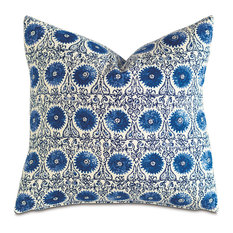 Brigham Cerulean Knife Edge Pillow