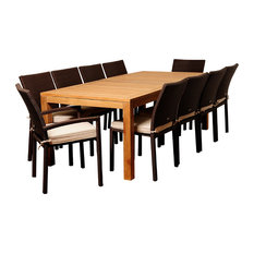 50 Most Popular 11 Piece Outdoor Dining Sets For 2019 Houzz