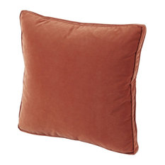 Tangelo Velvet Pillow