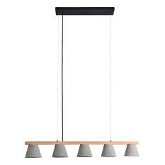 Zain Concrete Ceiling Fixture