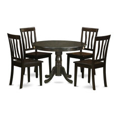 5-Piece Kitchen Table Set Table And 4 Dinette Chairs