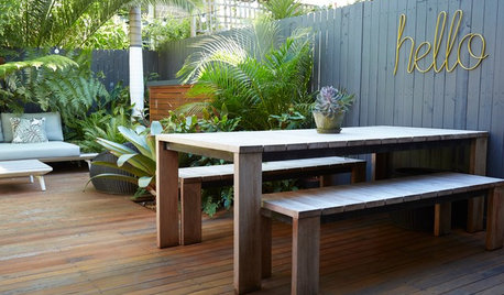 How Do I... Rejuvenate My Outdoor Timber Furniture?