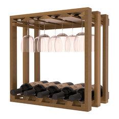 Under Cabinet Wine Glass Rack | Houzz