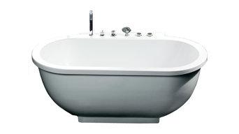 Ariel Platinum AM128 Whirlpool Bathtub 71x37.4x27.5