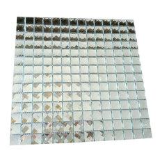 "Mosaic Tiles Glass Mirror For Wall Floor Back Splash 12""x12"" Sheet"