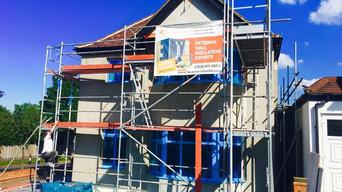 External wall insulation Winbledon
