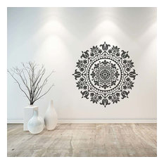 Mandala Stencil Gratitude, Stencils For Easy DIY Home Decor, 18""