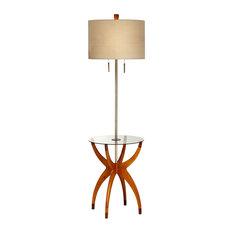 Vanguard 1 Light Floor Lamp in Cherry Blossom
