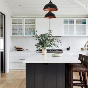 Clovelly Hamptons Kitchen