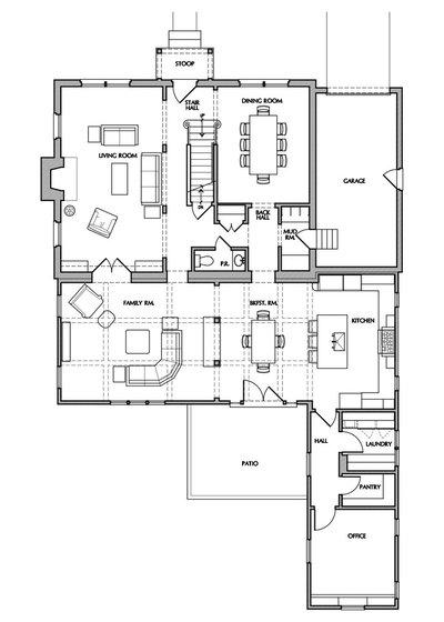 Floor Plan by Gilday Renovations
