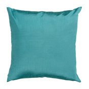 "Niesha Contemporary Down Filled Accent Pillow Emerald 18""x18""x4"""