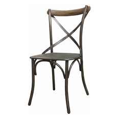 Crossback Chair (Set Of 2) Brown