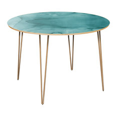 Stella Hairpin Dining Table - Pacific Waters