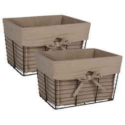 Industrial Baskets by VirVentures