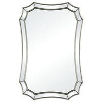 Rue Des Rosiers Wall Mirror, Silver