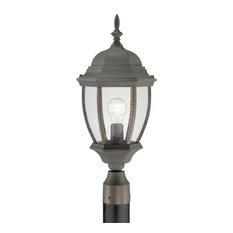 Covington Post Light, Painted Bronze, 1x100W, 120V
