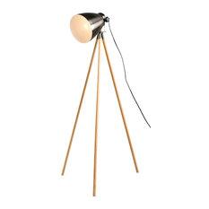 The Lighting and Interiors Group - Director Tripod Floor Lamp - Floor Lamps