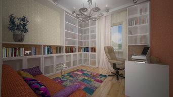 интерьеры частного дома под Екатеринбургом