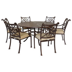 Mediterranean Outdoor Dining Sets by iPatio Furniture
